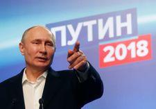 التهاني تنهال على بوتين بانتخابه رئيسا من جديد