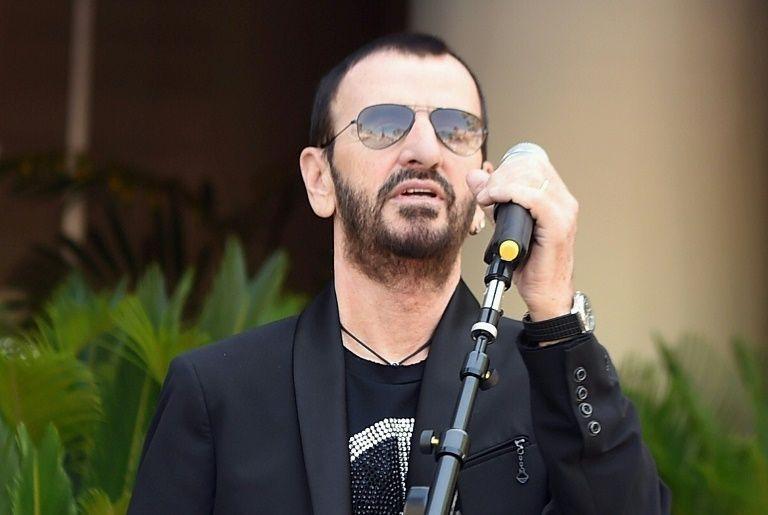 Lancien Batteur Des Mythiques Beatles Ringo Starr Le 7 Juillet 2017 A Los Angeles Californie Michael Buckner GETTY IMAGES NORTH AMERICA AFP Archives