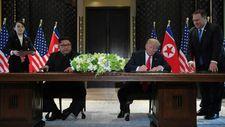 Singapour: signature sans précédent d'une déclaration commune entre Trump et Kim