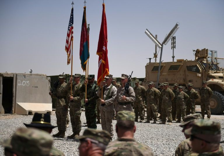 Seven US troops wounded and Afghan soldier die in attack