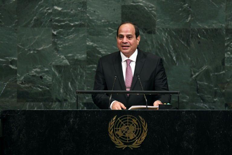 Le président égyptien appelle les Palestiniens à s'unir et coexister avec Israël