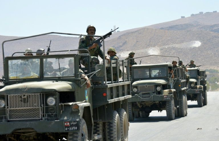 Lebanese army to strike Arsal area