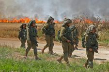 Gaza-based fire balloons, kites spark six fires in southern Israel