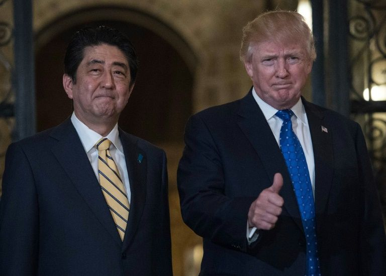 As part of a two-day visit that began in Washington US President Donald Trump and Japanese Prime Minister Shinzo Abe jetted to Trump's Mar-a-Lago estate in Florida