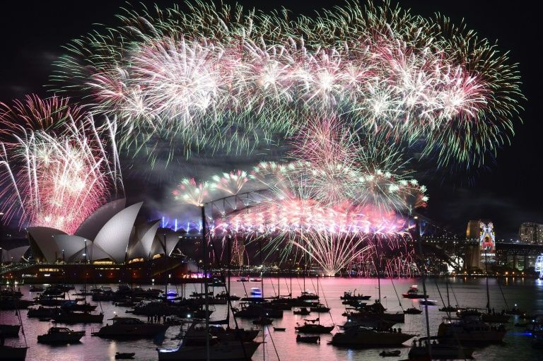 The New Year's Eve fireworks extravaganza that lights up the sky over Sydney has been designed by the Foti family for two decades