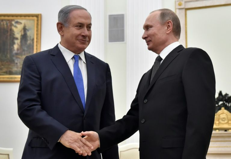 Netanyahu to meet Putin in two weeks over Syria, military coordination