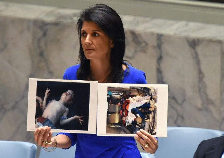 US, France, Britain Propose UN Resolution on Syria Gas Attack
