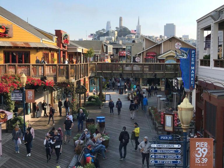 Everitt Aaron Jameson 26 was planning to target San Francisco's busy Pier 39 tourist spot Daniel SLIM