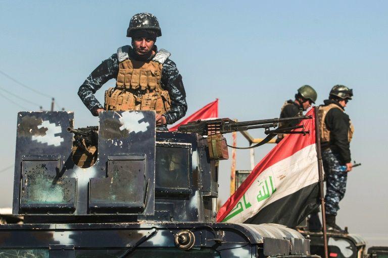 Les forces irakiennes entrent dans l'aéroport de Mossoul
