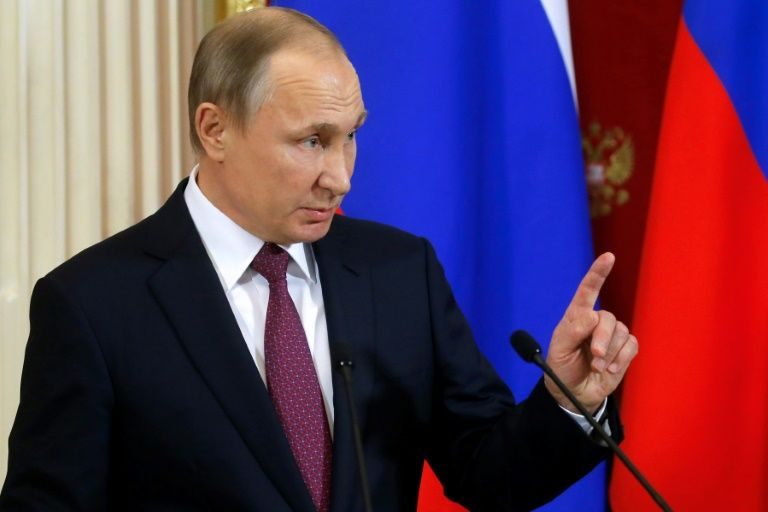Russian President Vladimir Putin has repeatedly denied trying to inflence the outcome of the US election