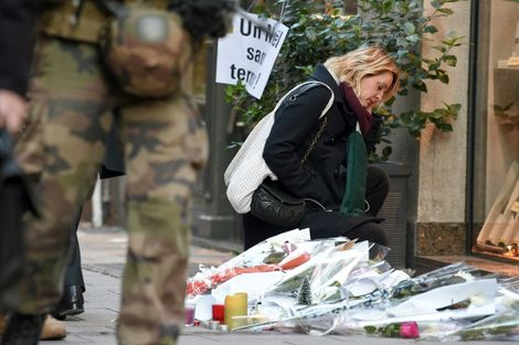 Among the casualties in Strasbourg, two were killed outright and another has been declared brain-dead, while 12 more were injured, six critically