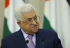 Palestinian president Abbas improving in hospital