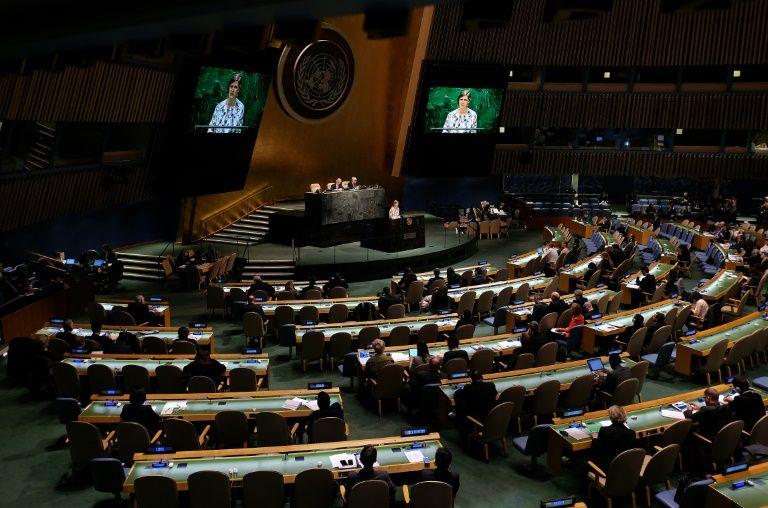 Nouveau rapport de l'ONU: