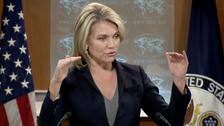 Heather Nauert, porte-parole du Département d'Etat américain
