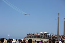 Beaches, barbecues, and a military flyover mark Israel's 70th birthday bash
