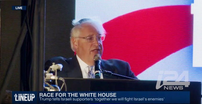 President-elect Donald Trump has chosen David Friedman to be the US ambassador to Israel