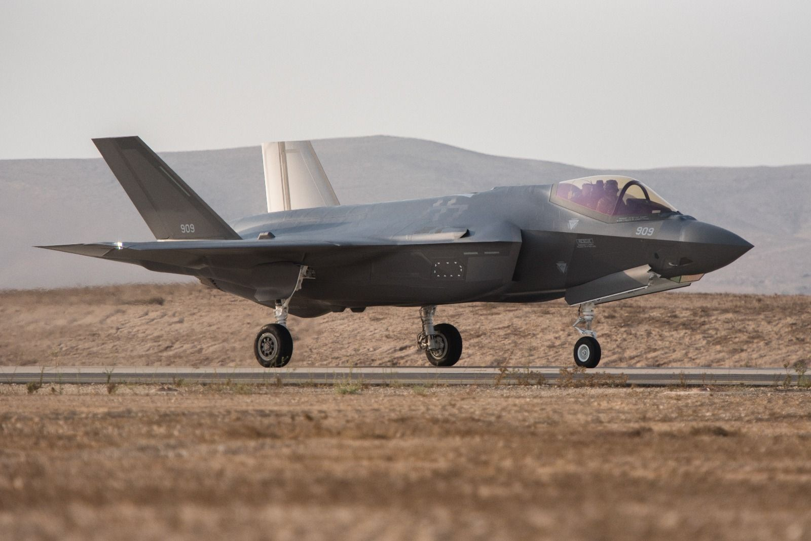 Israel declares F-35 war jets