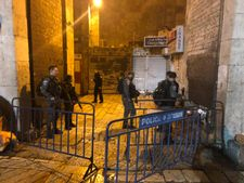 Knife-wielding Palestinian assailant shot dead in Jerusalem's Old City