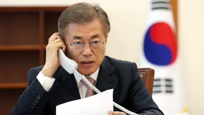 Il n'y aura pas de guerre sur la péninsule, assure le président sud-coréen