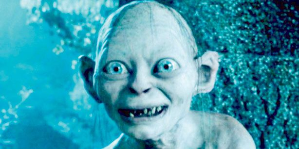 gollum smiling wwwpixsharkcom images galleries with