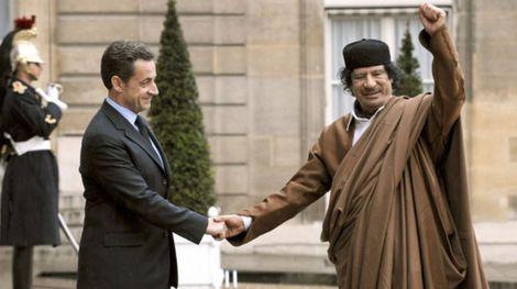 توقيف الرئيس الفرنسي الاسبق ساركوزي على خلفية قضايا فساد