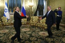 Poutine et Netanyahou en faveur de la stabilité à la frontière avec le Liban