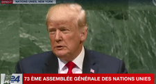 """Assemblée générale de l'ONU: Trump dénonce """"la dictature corrompue"""" en Iran"""