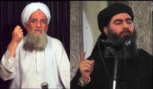 Al Qaida leader Ayman al-Zawahiri (Left) and Islamic State leader Abu Bakr al-Baghdadi (Right)