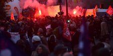 """France: 80.000 manifestants contre la politique """"libérale"""" de Macron"""