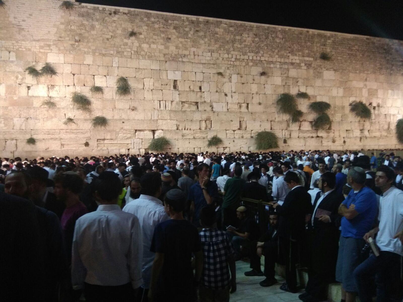 Jérusalem/Tisha Beav: des fidèles exclus du Mont du Temple