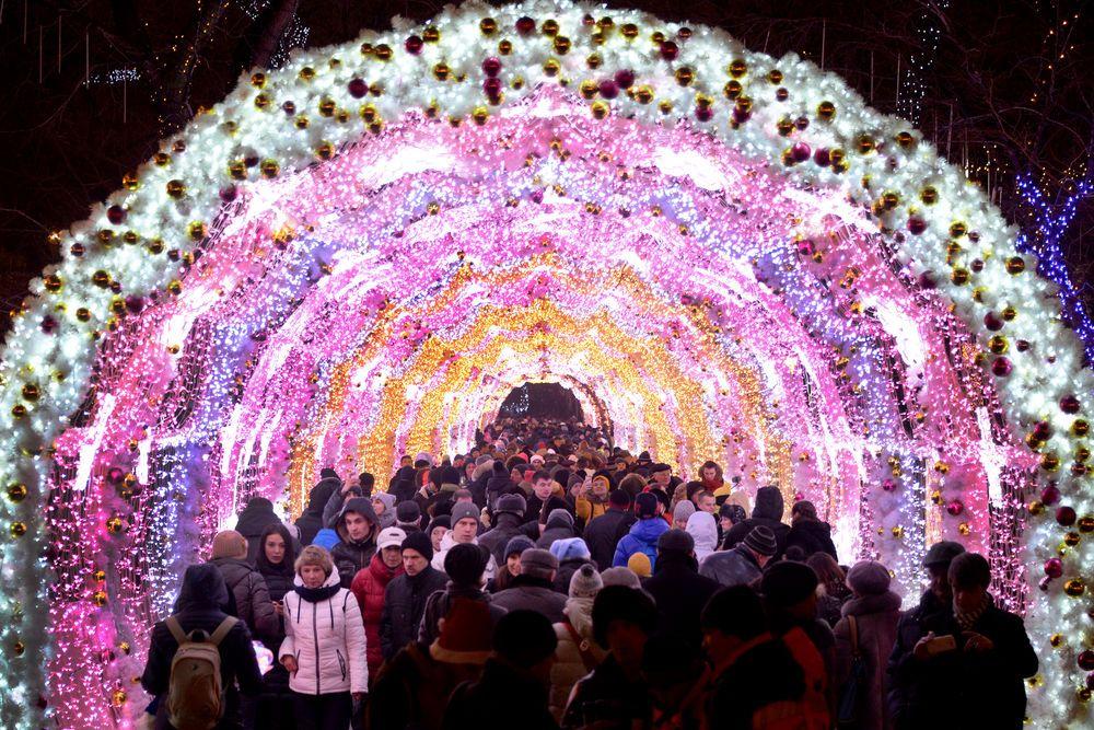 Nouvel an 2017 à Moscou, Russie