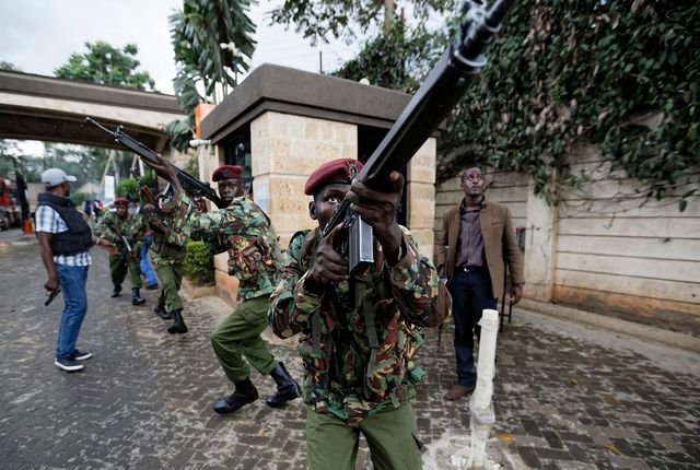 Death toll from Islamist attack on Kenya hotel complex climbs to 15