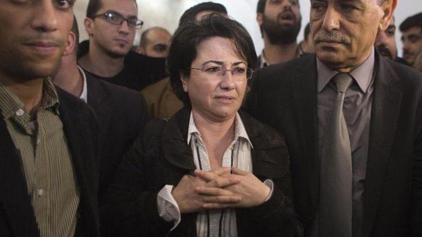 Haneen Zoabi, membre du parti politique israélien Balad