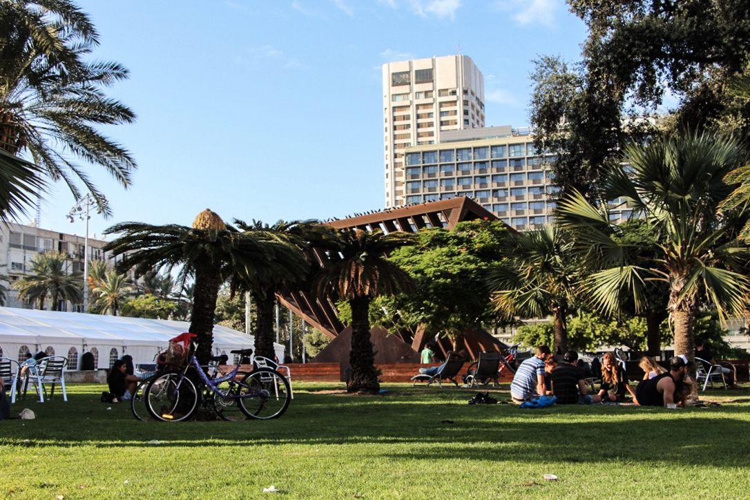 """Tel Aviv dans le top 7 des """"villes les plus vertes"""" au monde"""