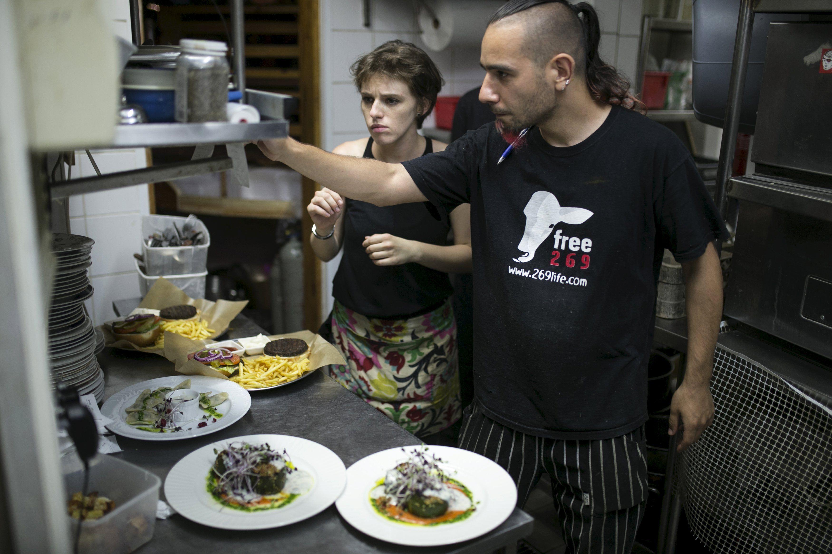 In the land of milk and honey, Israelis turn vegan