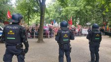 Thousands of Germany's far-right and counter-protesters face off in rallies