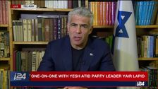 Yesh Atid party chairman Yair Lapid speaks to i24NEWS, January 9, 2018