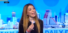 Dima Tayeh, a Muslim woman running in the right-wing Likud party primaries, speaks to i24NEWS