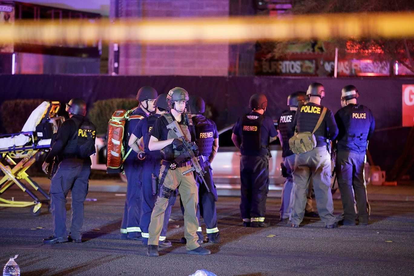 Brother of suspected Las Vegas gunman 'dumbfounded' by mass shooting