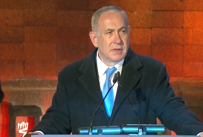 Netanyahu slams Allies' inaction during WW2 as Israel commemorates Holocaust