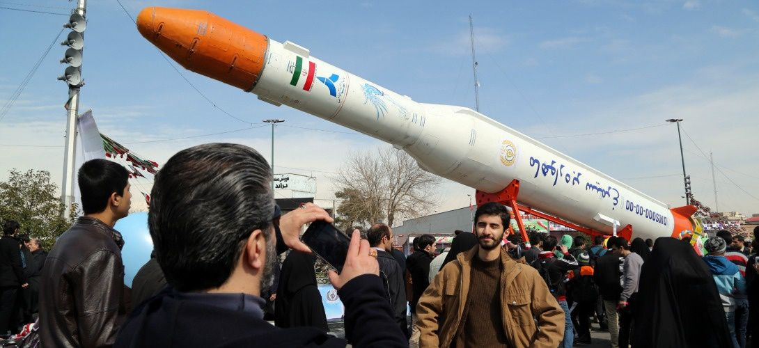 """Test par l'Iran d'un lanceur de satellites: Washington dénonce une """"provocation"""""""
