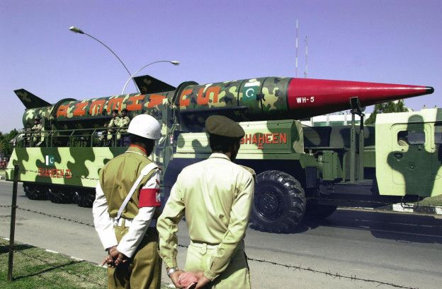 Image result for nuclear arsenal of pakistan