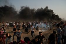 Palestinian killed by Israeli fire in West Bank clash, 60 injured in Gaza clash