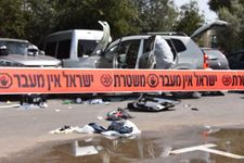 Three injured, driver shot in car-ramming attack in northern Israel