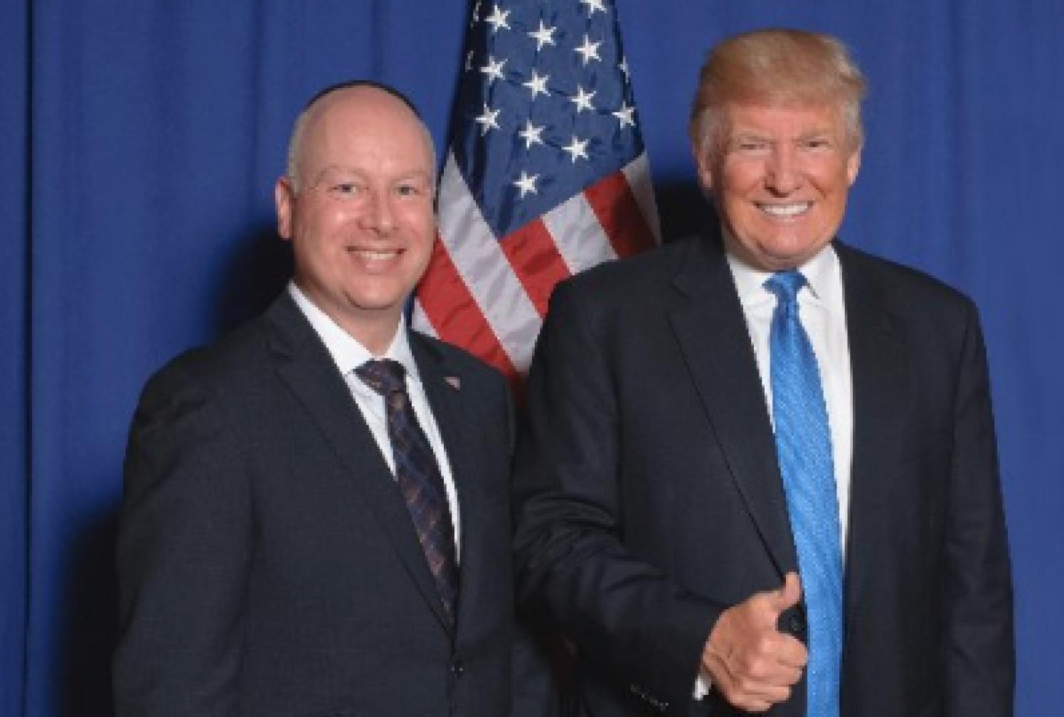 Trump invite le président palestinien à la Maison-Blanche