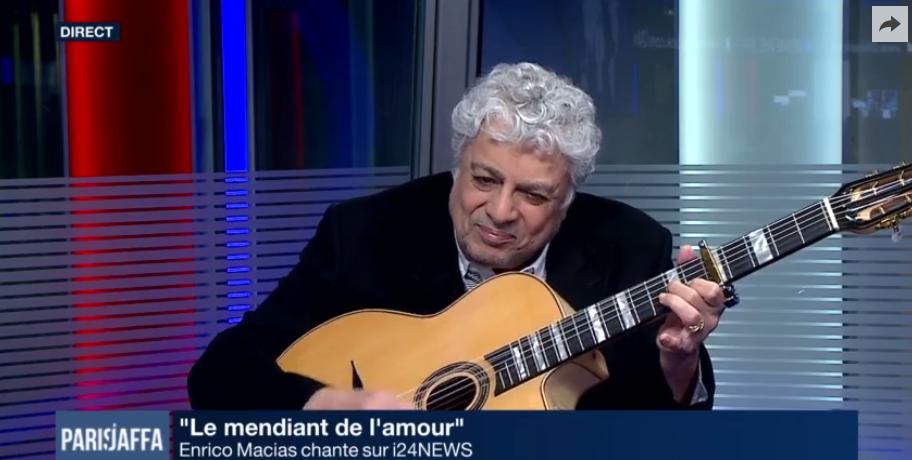 """""""La fraternité n'est pas un rêve"""" (Enrico Macias à i24NEWS)"""