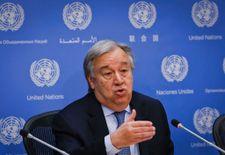 """الأمين العام يدعو لايقاف """"الحرب العبثية"""" في اليمن"""
