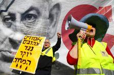 """مئات من """"السترات الصفراء"""" الإسرائيليين يحتجون ضد غلاء المعيشة"""