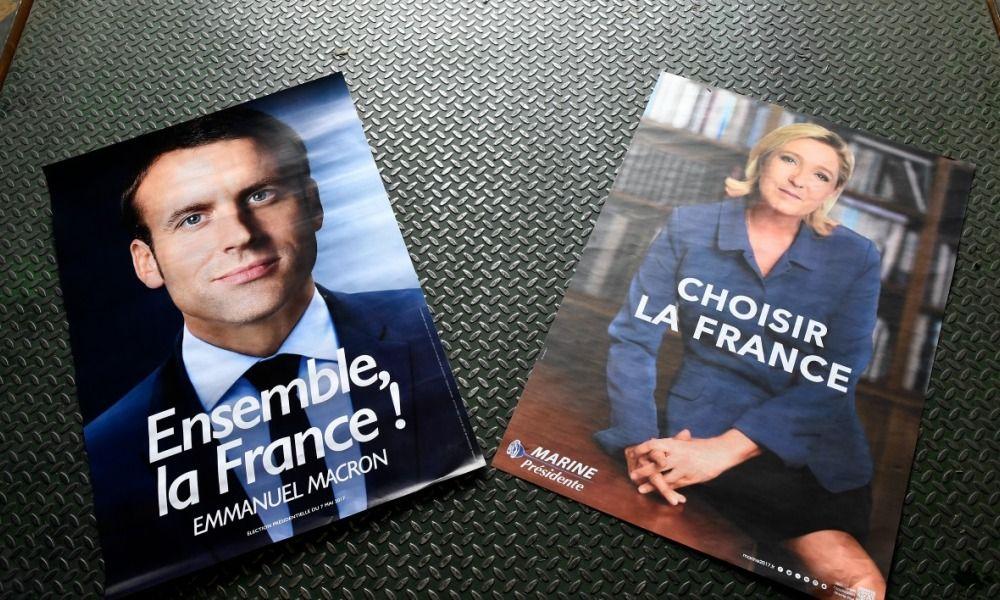 L'écart se resserre entre Emmanuel Macron et Marine Le Pen — Election présidentielle