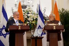 Netanyahu hails 'new era' in Israel-India ties after meeting with Modi